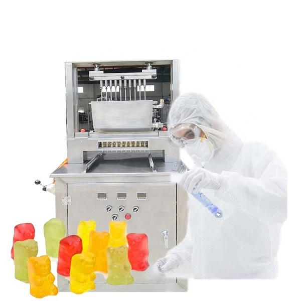 CE ISO 9001 Certification Easy Clean Full Automatic Gummy Bear Machine Jelly Machine Forming Making Machine