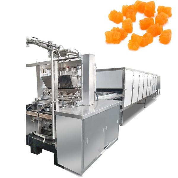 Semi automatic vegan gummy candy lollipop making machine soft hard lollipop candy maker price Of Food Confectionery