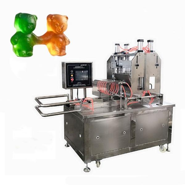 Commercial gelatin pectin small jelly gummy candy making machine / production line for sale