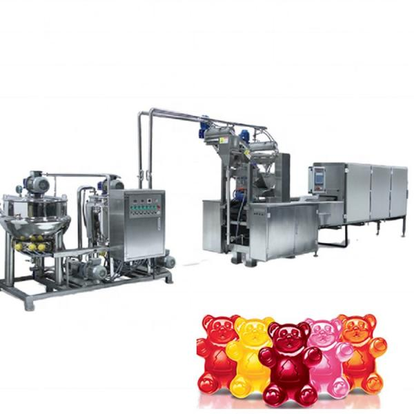 Easy to operate automatic counting soft candy gummy bear packing packaging machine
