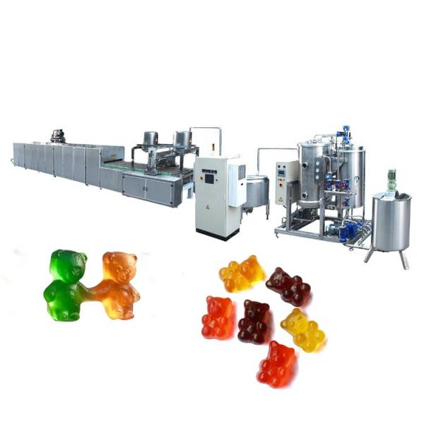 Commercial automatic line for gummy candy pineapple candy making machine